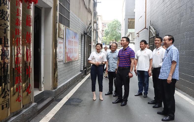 罗讯专题调研南县融媒体中心新闻宣传工作